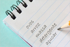 Faça uma lista