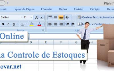 Criando planilha para controle de estoque em Excel