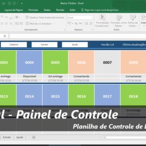 Controle de disponibilidade - 300 Paineis