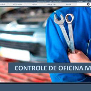 Planilha do Mecânico - Controle de Oficina Mecânica